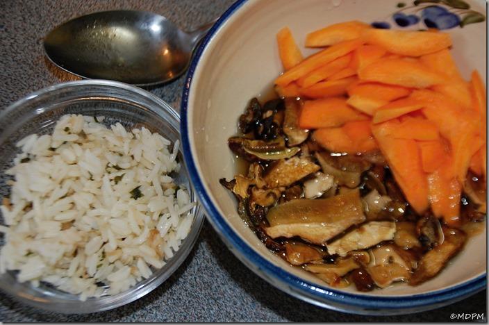 07-hříbky, karotka, rýže