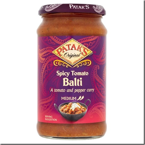 Patak's Original Spicy Tomato Balti 400g